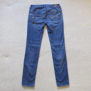 American Eagle Jeans Skinny Stretch 2 Long EUC